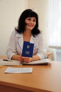 лікар вищої категорії  ТРОЯН Анаїда Суренівна