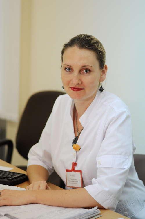 Завідувач відділенням, лікар-рентгенолог Войцеховська Тетяна миколаївна
