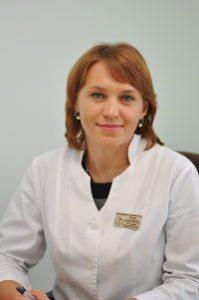 Вознюк Альона Юріївна, завідувач, лікар-кардіолог