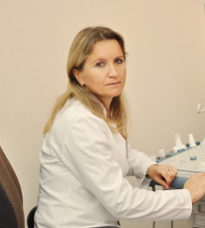 Лиса Людмила Леонідівна, завідувач відділенням, лікар з ультразвукової діагностики